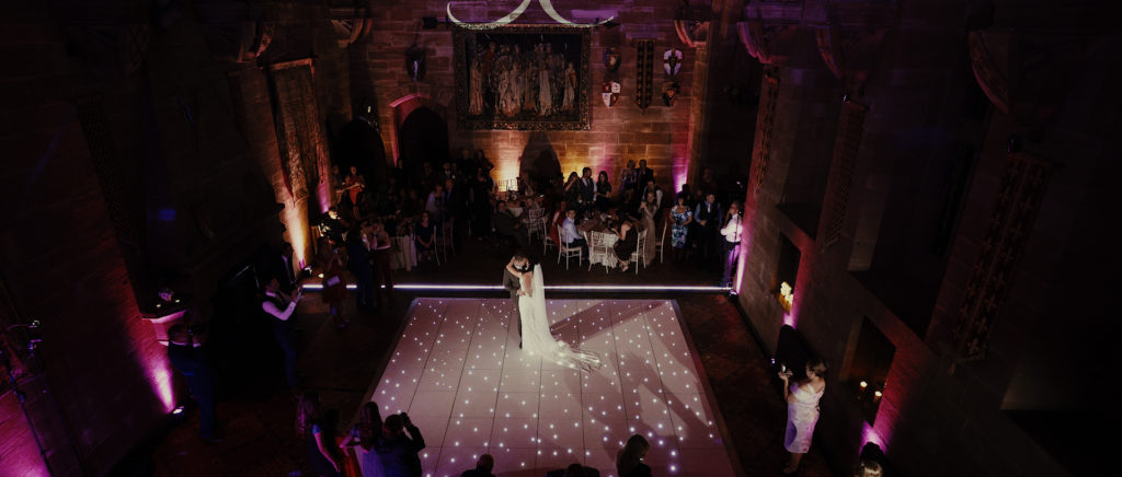 Wedding First Dance in the Great Hall