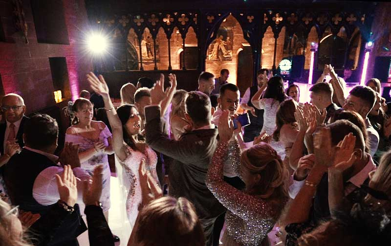 Peckforton Castle Cheshire First Dance